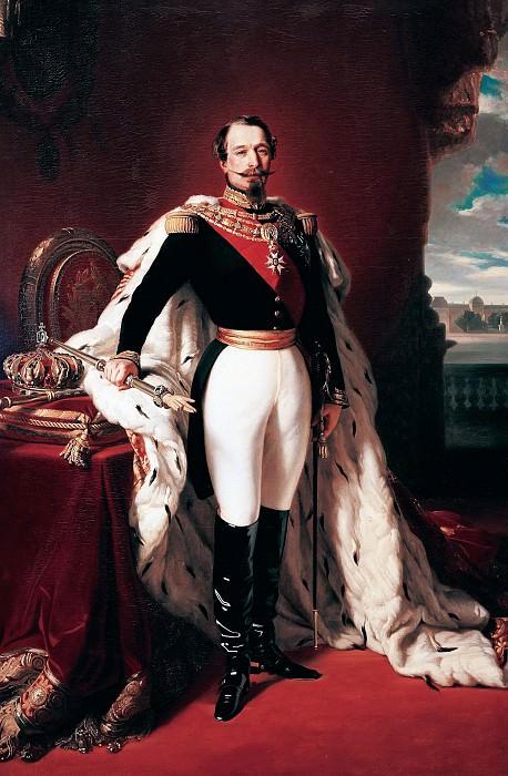 Napoleon III, French Emperor. Franz Xavier Winterhalter