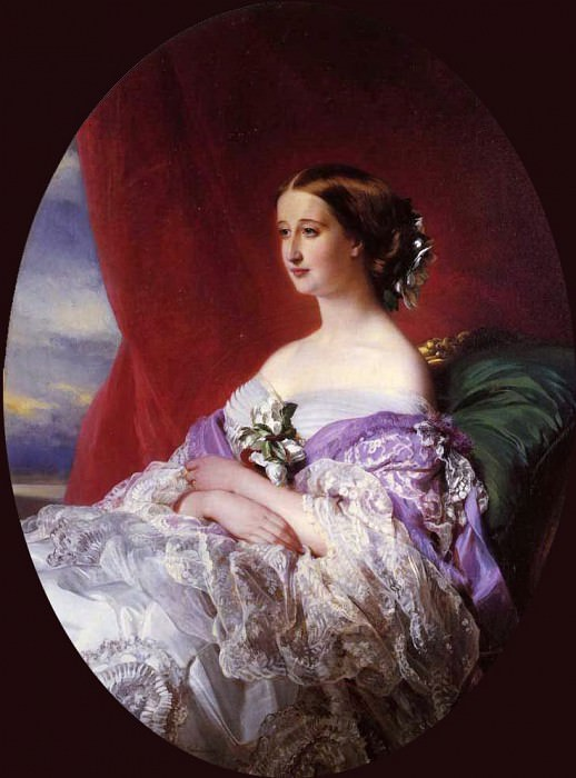 The Empress Eugenie. Franz Xavier Winterhalter