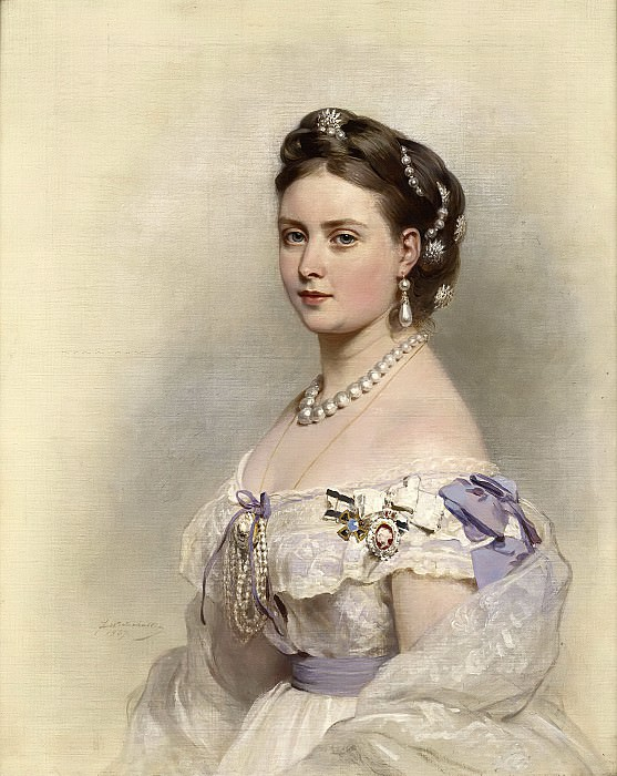 Victoria, Princess Royal (1840-1901). Franz Xavier Winterhalter