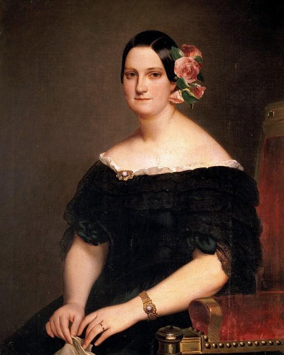 Maria Christina of the Two Sicilies. Franz Xavier Winterhalter