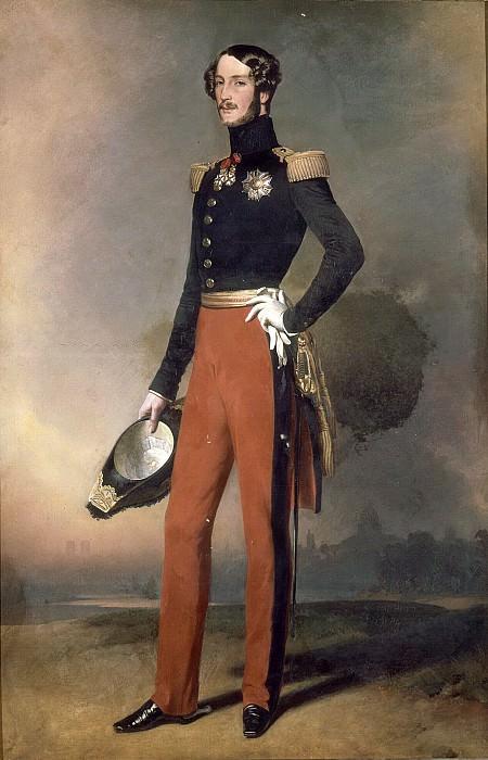 Ferdinand-Philippe-Louis, duc d´Orleans. Franz Xavier Winterhalter
