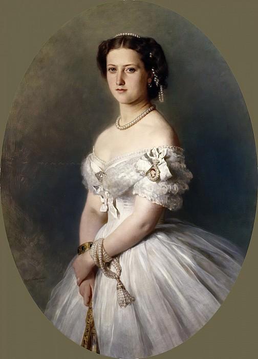 Princess Helena (1846-1923). Franz Xavier Winterhalter