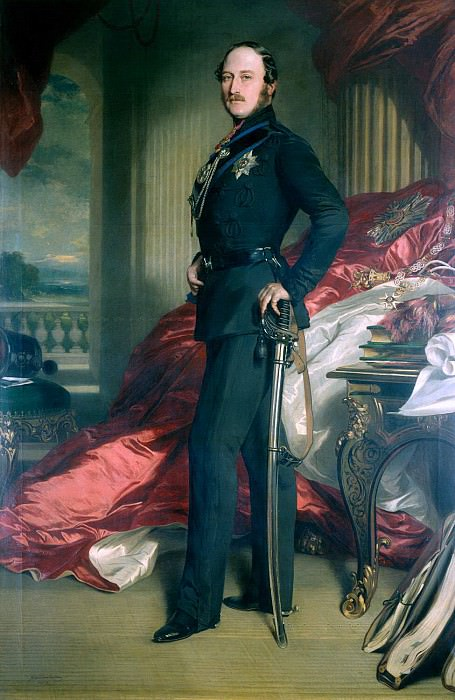 Prince Albert (1819-1861). Franz Xavier Winterhalter