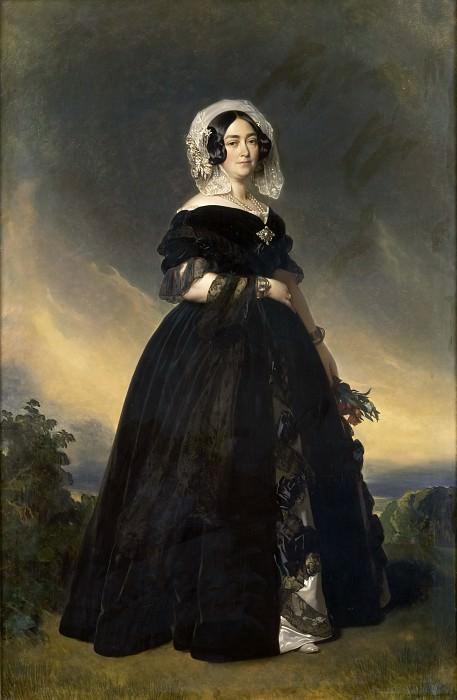 Marie-Louise-Therese-Victoire, duchesse de Kent. Franz Xavier Winterhalter