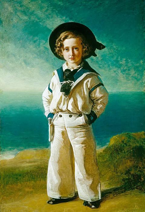 King Edward VII (1841-1910), when Albert Edward, Prince of Wales. Franz Xavier Winterhalter