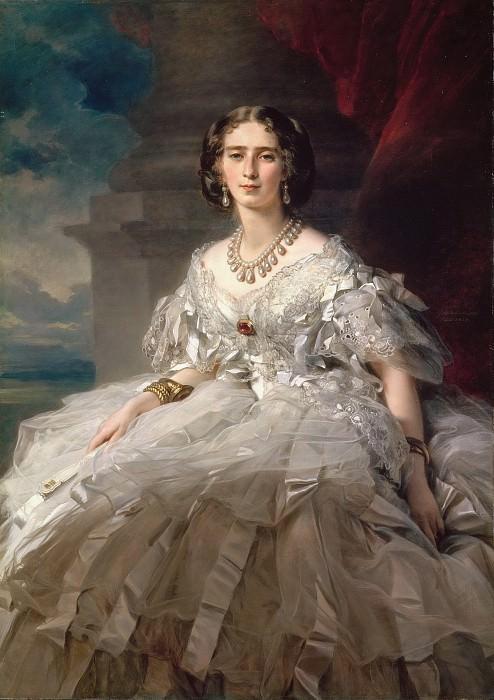 Portrait of Princess Tatyana Yusupova. Franz Xavier Winterhalter