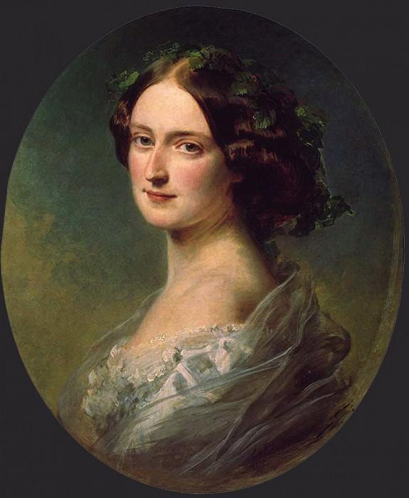 Lady Clementina Augusta Wellington. Franz Xavier Winterhalter