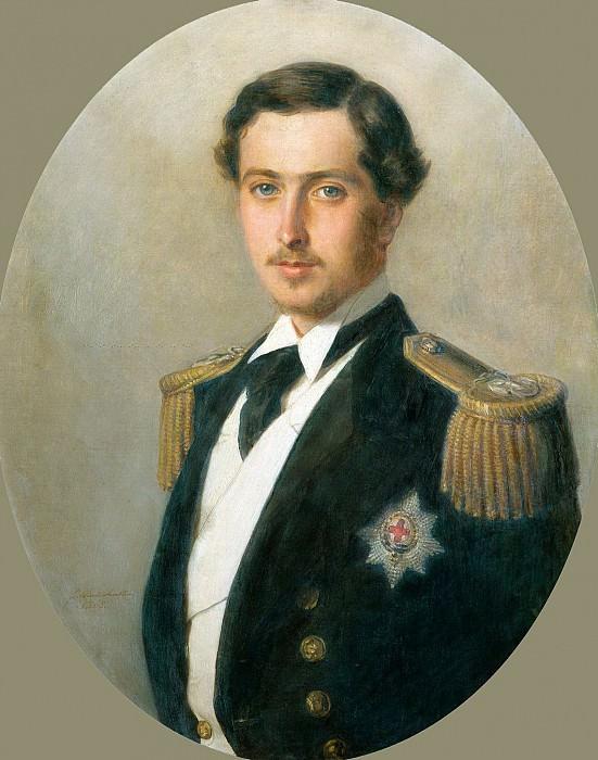 Prince Alfred (1844-1900), later Duke of Edinburgh. Franz Xavier Winterhalter