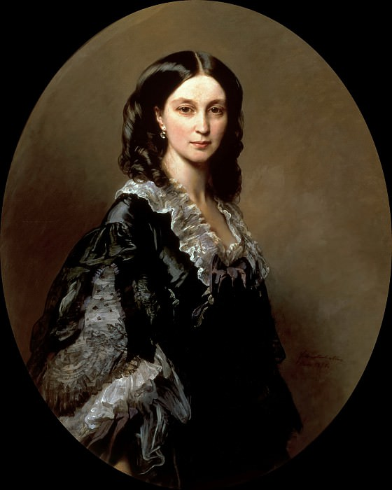Portrait of the Countess Bariatinsky. Franz Xavier Winterhalter