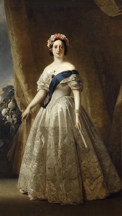 Queen Victoria (1819-1901). Franz Xavier Winterhalter