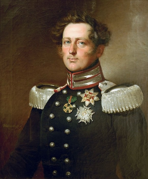 Leopold, Grand Duke of Baden (1830–52). Franz Xavier Winterhalter