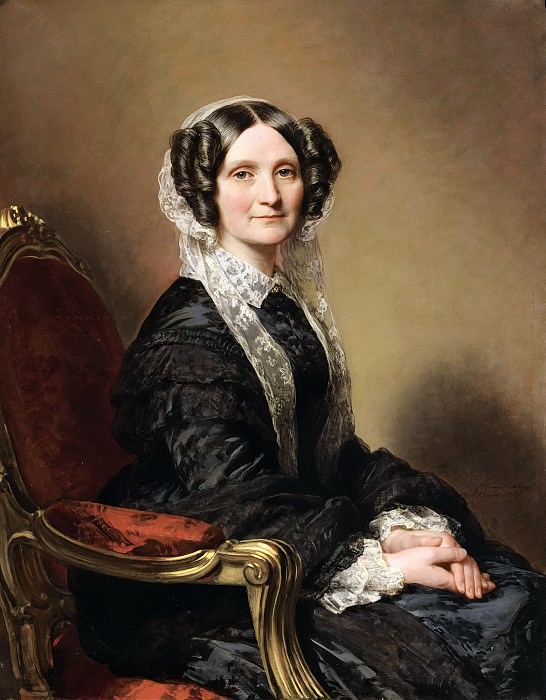 MADAME FRANСOIS-MARIE DELESSERT. Franz Xavier Winterhalter