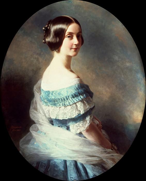 Baronne Helene Mallet (1825–1896). Franz Xavier Winterhalter