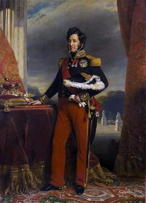Луи-Филипп, король Франции. Франц Ксавьер Винтерхальтер
