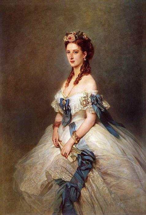 Александра, принцесса Уэльская. Франц Ксавьер Винтерхальтер