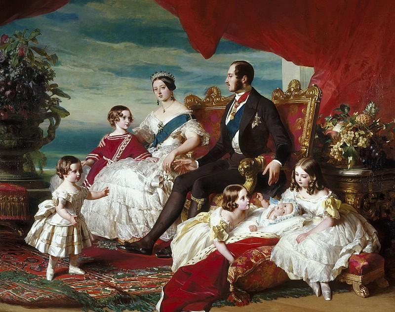 The Royal Family. Franz Xavier Winterhalter