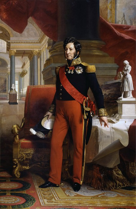 Louis-Philippe, King of France. Franz Xavier Winterhalter