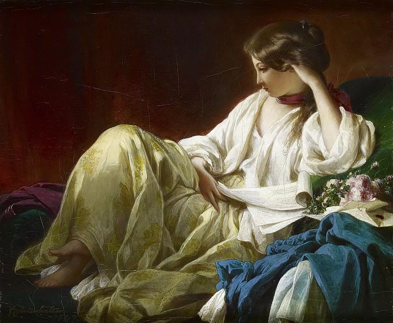 Contemplation. Franz Xavier Winterhalter