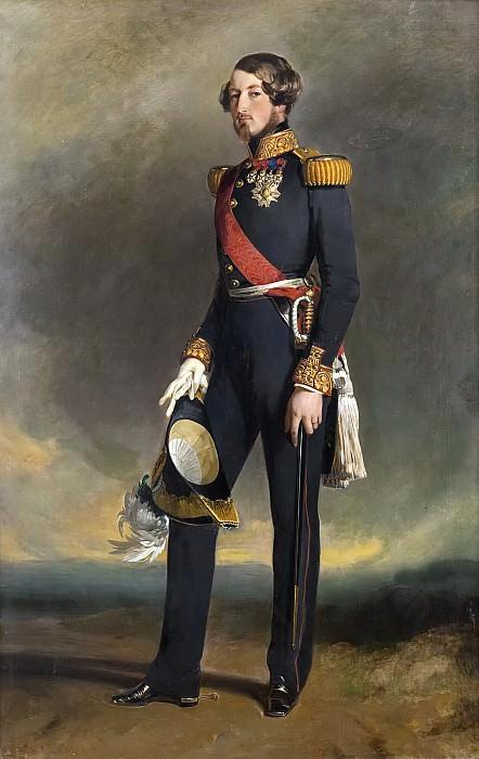 Auguste-Louis-Victor, duc de Saxe-Cobourg-Gotha. Franz Xavier Winterhalter