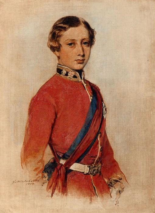 Albert Edward, Prince of Wales. Franz Xavier Winterhalter