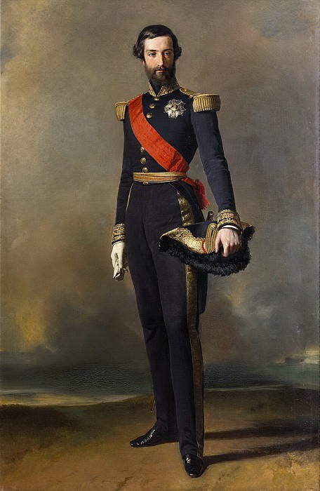 Франсуа-Фердинанд-Филипп Орлеанский, принц Жуанвиль. Франц Ксавьер Винтерхальтер