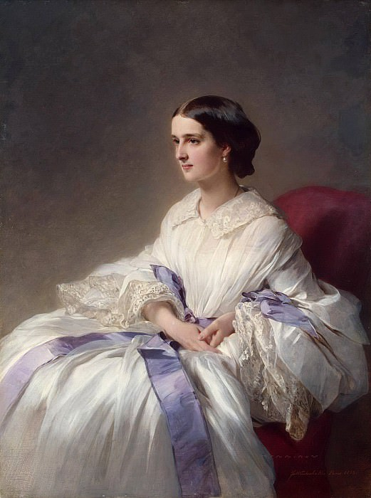 Portrait of Countess Olga Shuvalova. Franz Xavier Winterhalter