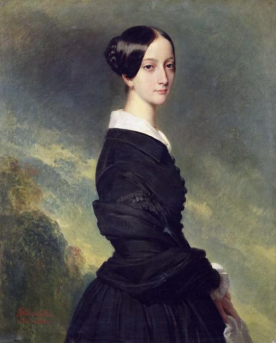 Francoise Caroline Gonzague, Princesse de Joinville. Franz Xavier Winterhalter