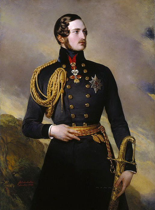 Prince Albert. Franz Xavier Winterhalter