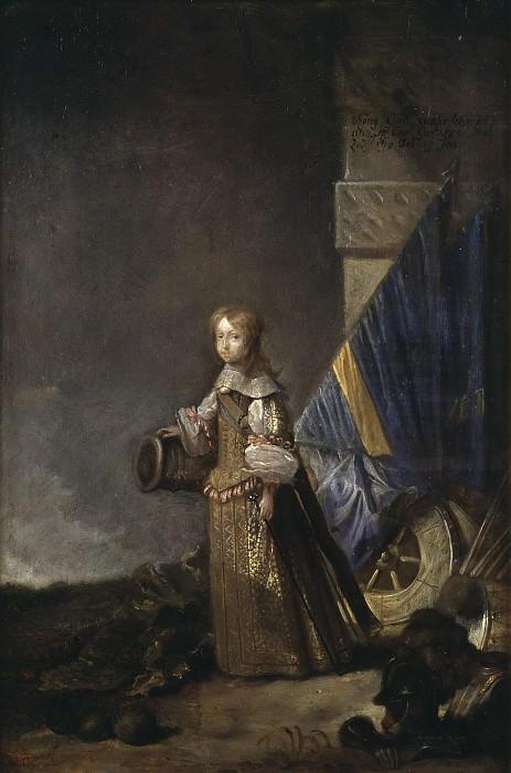 Karl XI (1655-1697), King of Sweden Palatinate Grave of Zweibrücken. Abraham Wuchters (Attributed)