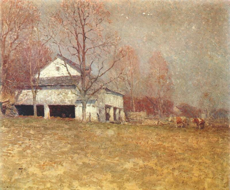 wyeth-n pyles barn 1921. Newell Convers Wyeth