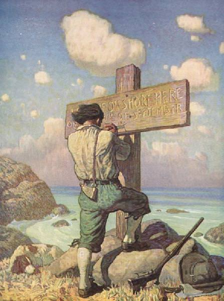 #16598. Newell Convers Wyeth