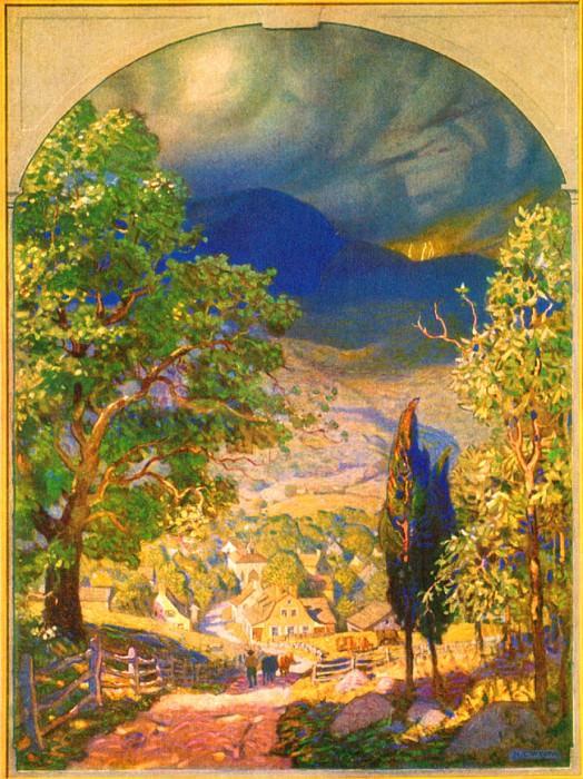 Rip Van Winkle 0001 Unknown Title N.C.Wyeth sqs. Newell Convers Wyeth