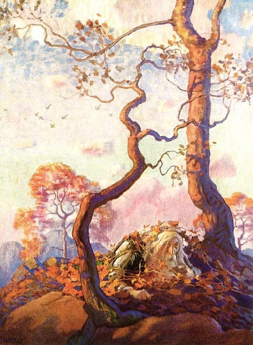 Rip Van Winkle 0006 Unknown Title N.C.Wyeth sqs. Newell Convers Wyeth