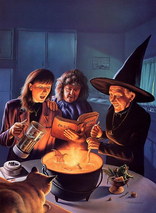 Witch Fantastic. Джим Уоррен