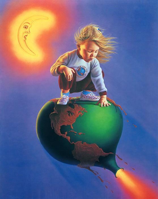 Earth - Love it or Lose it. Джим Уоррен