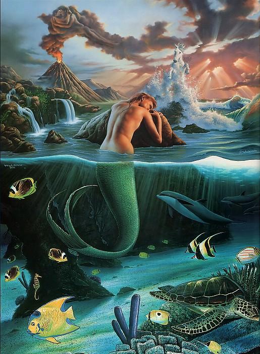Mermaid Dreams. Джим Уоррен
