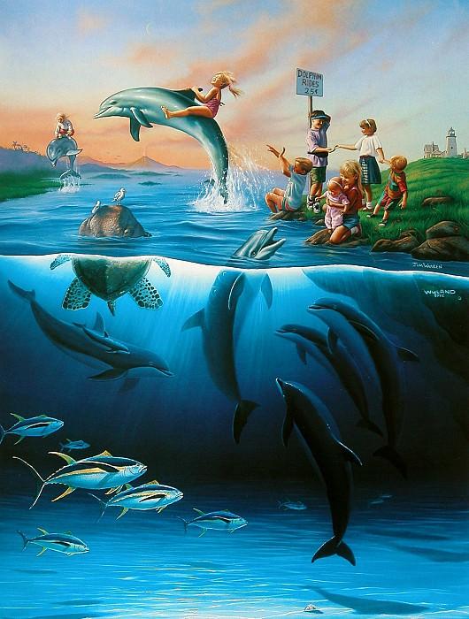 Dolphin Rides. Джим Уоррен