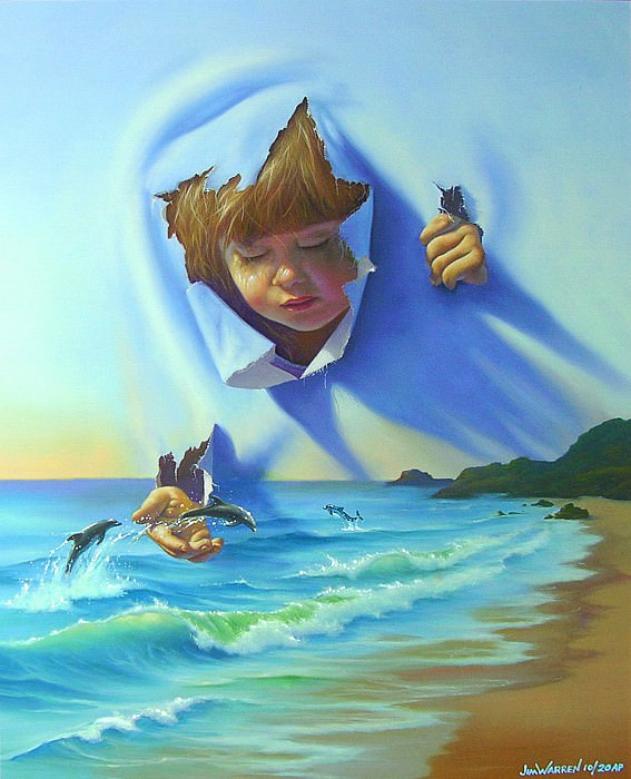 Dolphin Encounter. Джим Уоррен