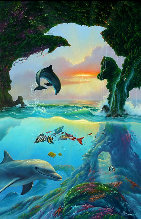 Seven Dolphins. Джим Уоррен