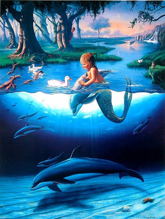 Littlest Mermaid. Джим Уоррен