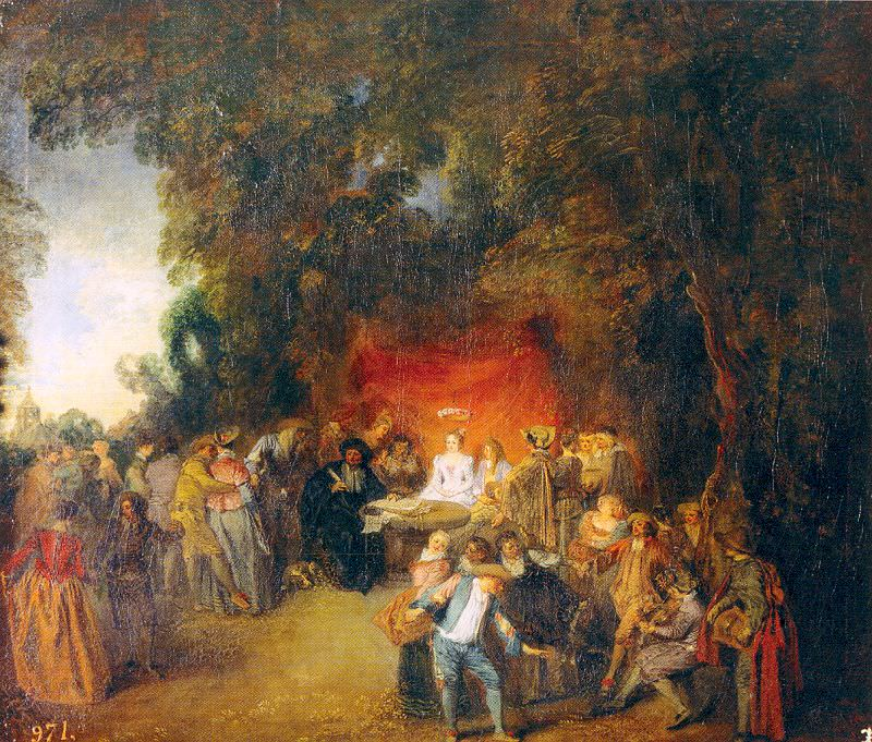 watteau22. Jean-Antoine Watteau