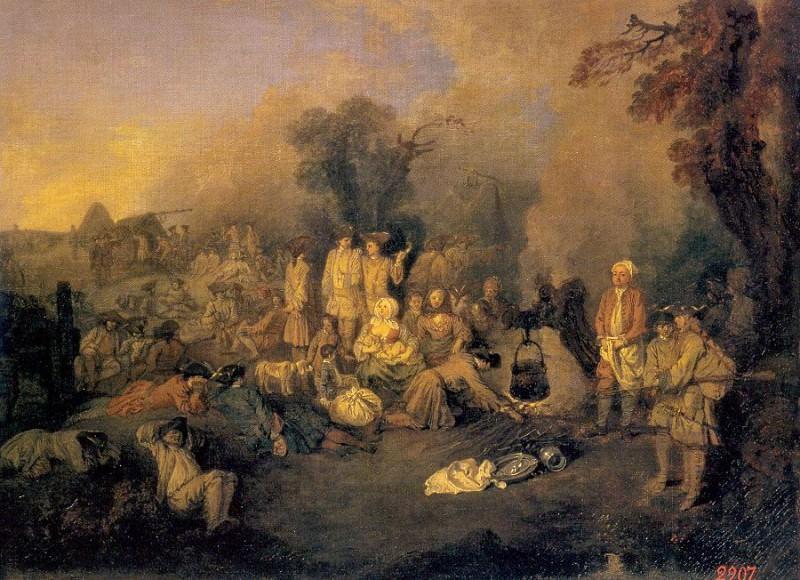 watteau4. Jean-Antoine Watteau