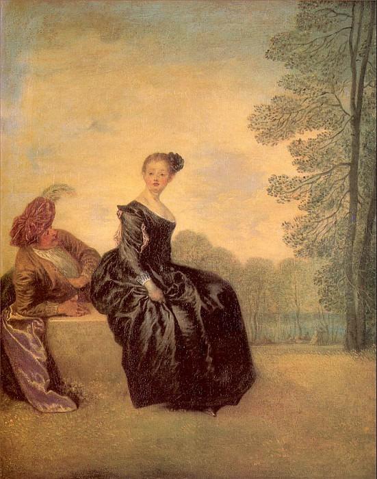watteau26. Jean-Antoine Watteau