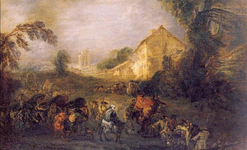 watteau6. Jean-Antoine Watteau