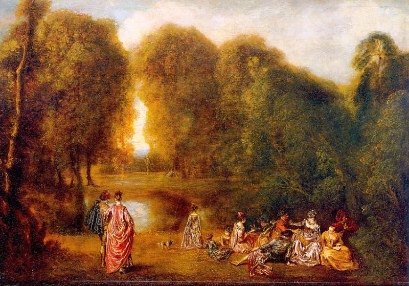 watteau28. Jean-Antoine Watteau