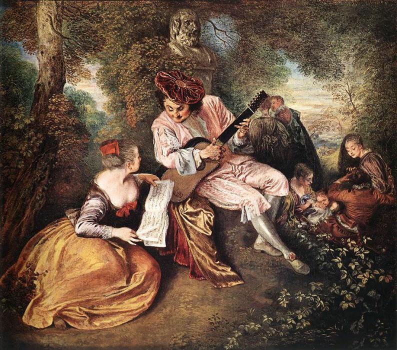 09loveso. Jean-Antoine Watteau