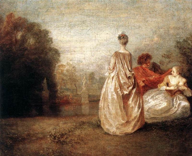 05cousin. Jean-Antoine Watteau