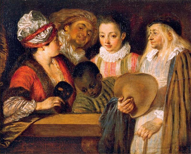 #46057. Jean-Antoine Watteau