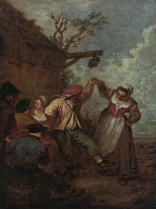 Peasant Dance CGF. Jean-Antoine Watteau