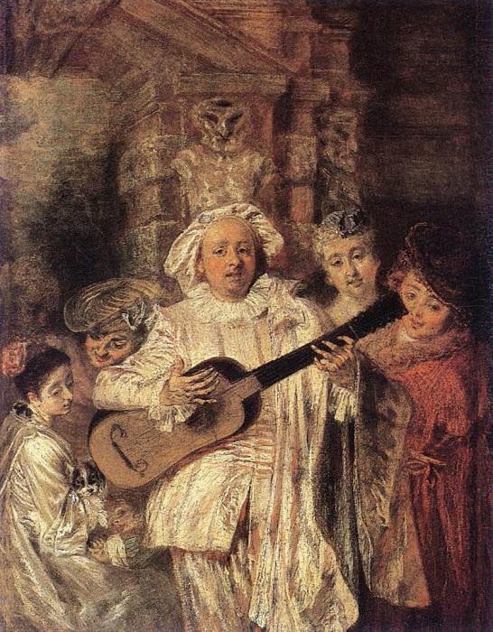 04gilles. Jean-Antoine Watteau